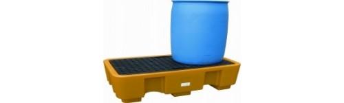 Cubeto de Retención de Polietileno para Bidones de 220 litros